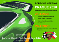 5. Jarní PORSCHE MEETING PRAGUE 2020